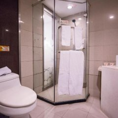 Отель Motel Shanghai West Gaoke Road New International Expo Centre ванная фото 2