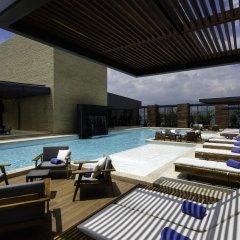 Отель Hilton Mexico City Santa Fe Мексика, Мехико - отзывы, цены и фото номеров - забронировать отель Hilton Mexico City Santa Fe онлайн бассейн фото 2