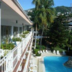 Отель El Tropicano балкон