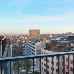 Отель Courtyard by Marriott Brussels EU Бельгия, Брюссель - 1 отзыв об отеле, цены и фото номеров - забронировать отель Courtyard by Marriott Brussels EU онлайн балкон
