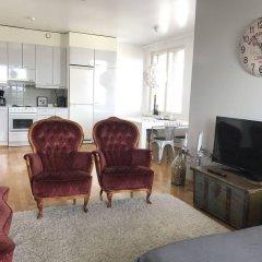 Апартаменты Sauna Apartment In The Heart Of The City Ювяскюля комната для гостей фото 4