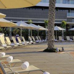 Отель Park Inn by Radisson, Abu Dhabi Yas Island пляж