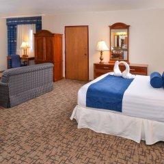 Отель Comfort Inn & Suites Downtown Tacoma США, Такома - отзывы, цены и фото номеров - забронировать отель Comfort Inn & Suites Downtown Tacoma онлайн комната для гостей фото 4