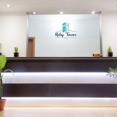 Отель Ruby Tower Apartments Болгария, Банско - отзывы, цены и фото номеров - забронировать отель Ruby Tower Apartments онлайн интерьер отеля