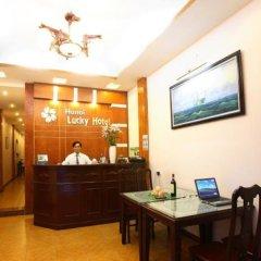 Hanoi Lucky I Hotel интерьер отеля
