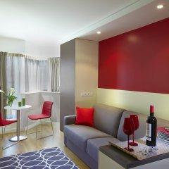 Отель Citadines Maine Montparnasse Париж комната для гостей фото 4