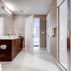 Отель Global Luxury Suites at Woodmont Triangle South США, Бетесда - отзывы, цены и фото номеров - забронировать отель Global Luxury Suites at Woodmont Triangle South онлайн ванная