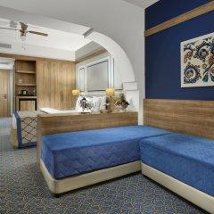 Отель La Blanche Island Bodrum - All Inclusive комната для гостей фото 4
