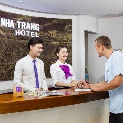 Отель Brandi Nha Trang Hotel Вьетнам, Нячанг - 1 отзыв об отеле, цены и фото номеров - забронировать отель Brandi Nha Trang Hotel онлайн интерьер отеля фото 2