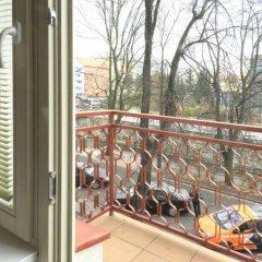 Отель Apartman Luna Чехия, Карловы Вары - отзывы, цены и фото номеров - забронировать отель Apartman Luna онлайн балкон