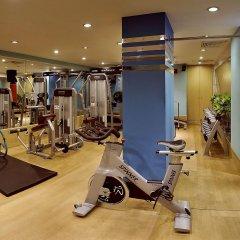 Отель The Suryaa New Delhi фитнесс-зал фото 2