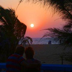 Отель Topaz Beach пляж
