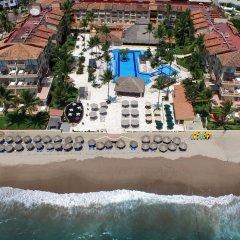 Отель Canto del Sol Plaza Vallarta Beach & Tennis Resort - Все включено пляж фото 2