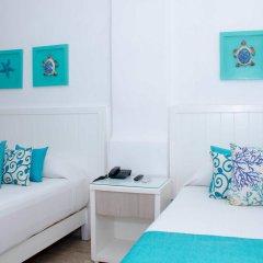 Отель BSEA Cancun Plaza Hotel Мексика, Канкун - отзывы, цены и фото номеров - забронировать отель BSEA Cancun Plaza Hotel онлайн комната для гостей фото 2