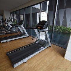 Отель BoonRumpa Condotel фитнесс-зал
