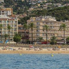 Отель Rosamar & Spa Испания, Льорет-де-Мар - 1 отзыв об отеле, цены и фото номеров - забронировать отель Rosamar & Spa онлайн пляж фото 2