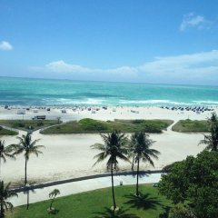 Hotel Victor пляж