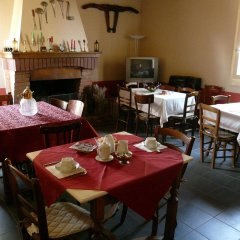 Отель Agriturismo La Riccardina Будрио питание фото 2