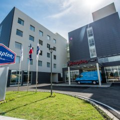 Отель Hampton By Hilton Santo Domingo Airport Бока Чика городской автобус