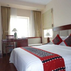 Отель Hanoi Elegance Happy Hotel Вьетнам, Ханой - 1 отзыв об отеле, цены и фото номеров - забронировать отель Hanoi Elegance Happy Hotel онлайн комната для гостей фото 2