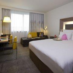 Отель Novotel Brussels Airport Бельгия, Диегем - 1 отзыв об отеле, цены и фото номеров - забронировать отель Novotel Brussels Airport онлайн комната для гостей фото 5
