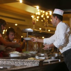 Отель Le Soleil Bella Vista - Couple and family only Монастир гостиничный бар