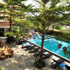 Отель Thanh Binh Riverside Hoi An бассейн фото 2