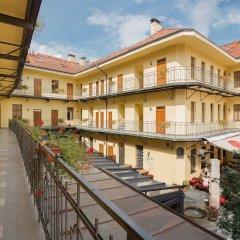 Апартаменты Andel Apartments Praha балкон