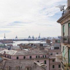 Отель Vittoria & Orlandini Италия, Генуя - 8 отзывов об отеле, цены и фото номеров - забронировать отель Vittoria & Orlandini онлайн балкон