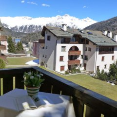 Отель Chesa Arlas B3 Швейцария, Санкт-Мориц - отзывы, цены и фото номеров - забронировать отель Chesa Arlas B3 онлайн балкон