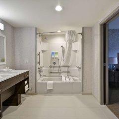 Отель Home2 Suites by Hilton Columbus Airport East Broad США, Колумбус - отзывы, цены и фото номеров - забронировать отель Home2 Suites by Hilton Columbus Airport East Broad онлайн ванная