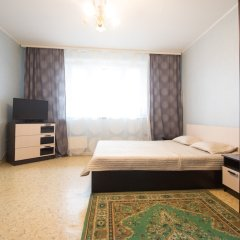 Апартаменты Flats of Moscow Apartment on Zyablikovo Москва комната для гостей фото 2