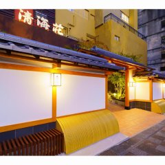 Отель Seikaiso Беппу вид на фасад