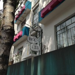 Отель Hostal Corona Condesa Мехико гостиничный бар