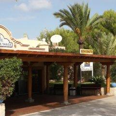 Отель Playasol Cala Tarida Сан-Лоренс де Балафия вид на фасад