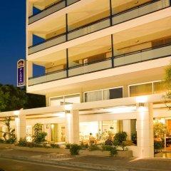 Отель Plaza Греция, Родос - отзывы, цены и фото номеров - забронировать отель Plaza онлайн вид на фасад