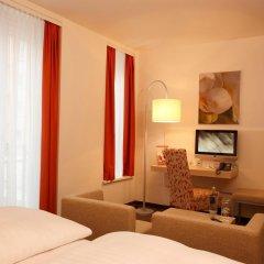 Отель H+ Hotel München Германия, Мюнхен - отзывы, цены и фото номеров - забронировать отель H+ Hotel München онлайн комната для гостей фото 5
