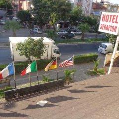 Serapion Hotel Турция, Дикили - отзывы, цены и фото номеров - забронировать отель Serapion Hotel онлайн парковка