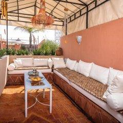 Отель Riad Villa Harmonie Марокко, Марракеш - отзывы, цены и фото номеров - забронировать отель Riad Villa Harmonie онлайн балкон
