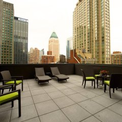 Отель Hilton Garden Inn New York/Central Park South-Midtown West балкон