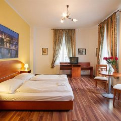Отель Amandment Чехия, Прага - 1 отзыв об отеле, цены и фото номеров - забронировать отель Amandment онлайн комната для гостей фото 3