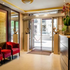 Отель Hôtel Courcelles Étoile интерьер отеля