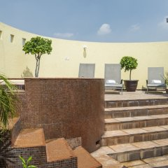 Отель Holiday Inn Dali Airport Мехико бассейн фото 2