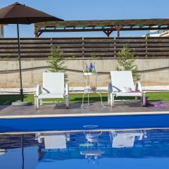 Отель Villa Hollywood Кипр, Протарас - отзывы, цены и фото номеров - забронировать отель Villa Hollywood онлайн бассейн