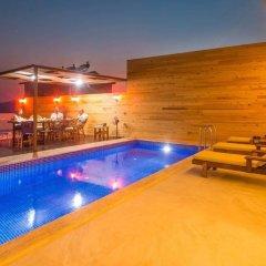 Villa Teras 1 Турция, Патара - отзывы, цены и фото номеров - забронировать отель Villa Teras 1 онлайн бассейн фото 2