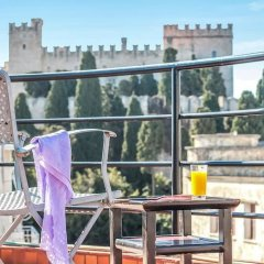 Отель Danezis City Stars Родос балкон