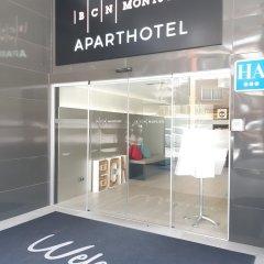 Отель Aparthotel Bcn Montjuic Барселона городской автобус