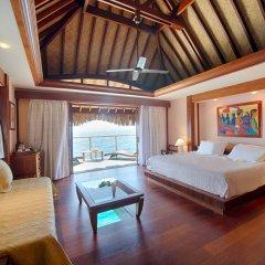 Отель Manava Beach Resort and Spa Moorea Французская Полинезия, Папеэте - отзывы, цены и фото номеров - забронировать отель Manava Beach Resort and Spa Moorea онлайн комната для гостей