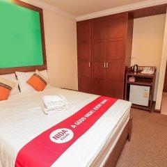 Отель Nida Rooms Silom Soi 12 Planet Бангкок комната для гостей фото 5