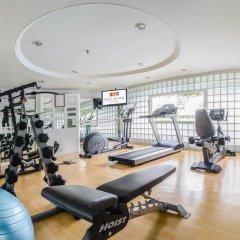 Отель BelAire Bangkok Бангкок фитнесс-зал фото 3